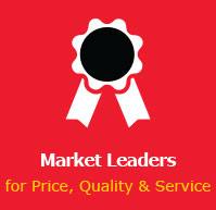 Market Leaders for Price, Quality & Service